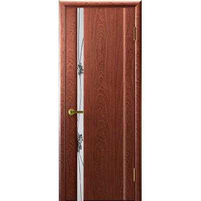 Ульяновская дверь Стэлла-1 красное дерево
