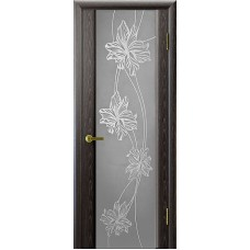 Ульяновская дверь Стэлла-2 чёрный абрикос