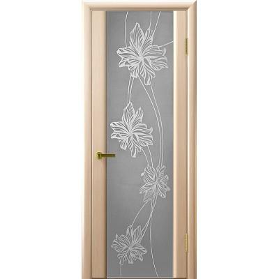 Ульяновская дверь Стэлла-2 белёный дуб
