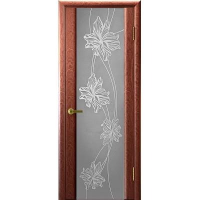 Ульяновская дверь Стэлла-2 красное дерево