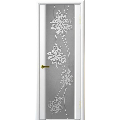 Ульяновская дверь Стэлла-2 ясень жемчуг