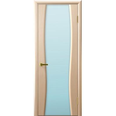 Ульяновская дверь Диадема-2(дворецкий) белёный дуб ДО
