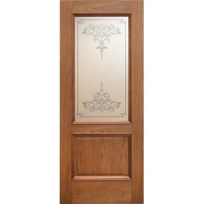 Ульяновская дверь Элада натуральный дуб ДО