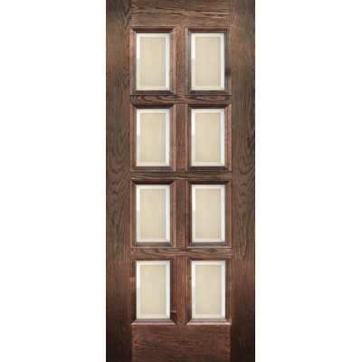 Ульяновская дверь Финестра английский дуб ДО фацетное