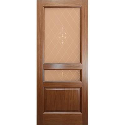 Ульяновская дверь Готика орех ДО