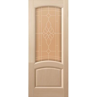 Ульяновская дверь Соло белёный дуб ДО