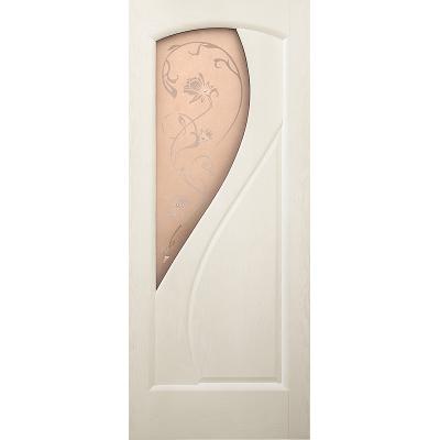 Ульяновская дверь Версаль белый ясень ДО