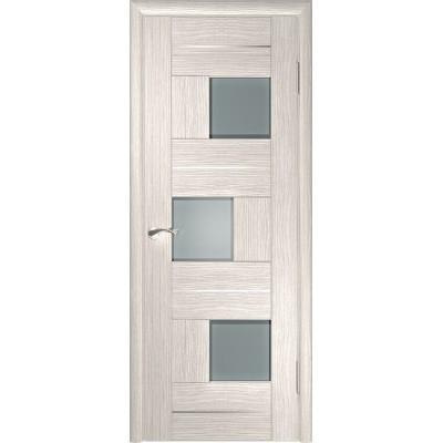 Межкомнатная дверь экошпон ЛУ-11 капучино