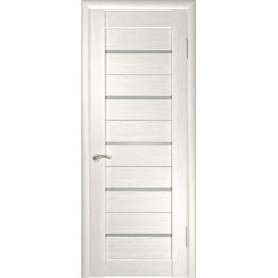 Межкомнатная дверь экошпон ЛУ-22 белёный дуб