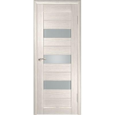 Межкомнатная дверь экошпон ЛУ-23 капучино