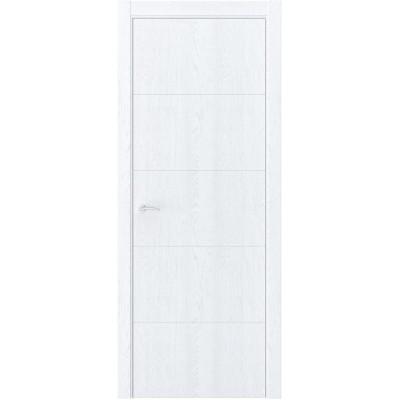Межкомнатная дверь экошпон QIN-10 дуб сатин