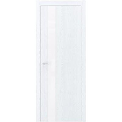 Межкомнатная дверь экошпон QIN-2 дуб сатин