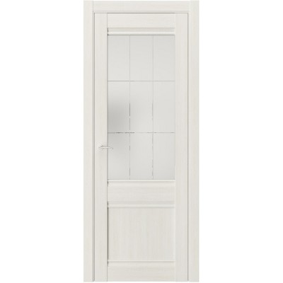 Межкомнатная дверь экошпон QS-2 альба