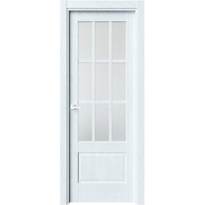 Межкомнатная дверь экошпон Z-6 дуб сатин