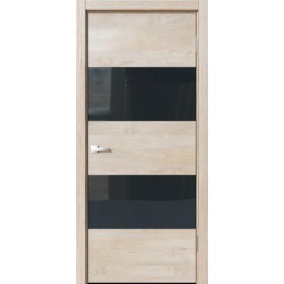 Межкомнатная дверь экошпон N-02 эдисон серый
