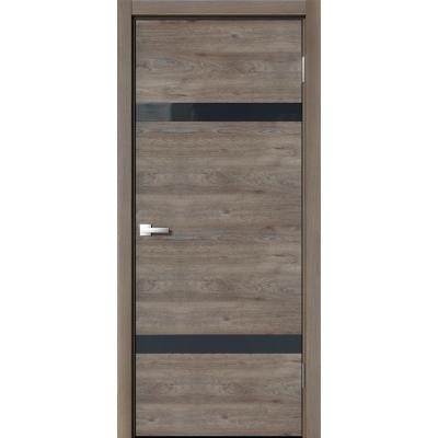 Межкомнатная дверь экошпон N-03 эдисон коричневый