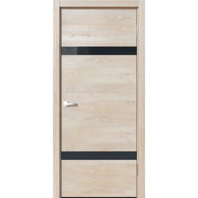 Межкомнатная дверь экошпон N-03 эдисон серый