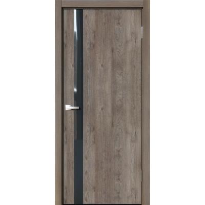 Межкомнатная дверь экошпон N-05 эдисон коричневый
