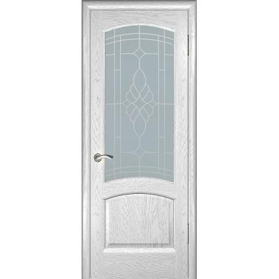 Дверь ульяновская Александрит(Комфорт) дуб молочный ДО