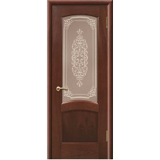 Дверь ульяновская Александрит красное дерево ДО