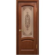 Дверь ульяновская Александрит орех ДО