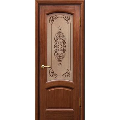 Дверь ульяновская Александрит(Комфорт) орех ДО