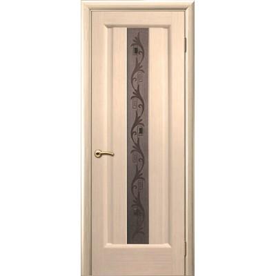 Ульяновская дверь Гиацинт белёный дуб ДО
