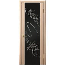 Ульяновские двери Молния белёный дуб