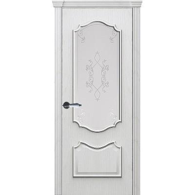 Ульяновская дверь Рубин-2 дуб молочный ДО