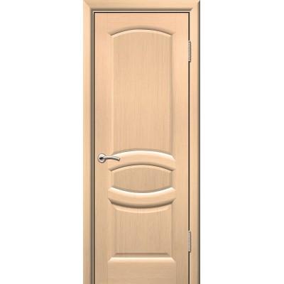 Дверь ульяновская Топаз(Комфорт) белёный дуб ДГ