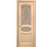 Дверь ульяновская Топаз белёный дуб ДО