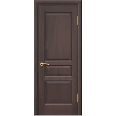 Ульяновские двери Яшма красное дерево тёмное ДГ