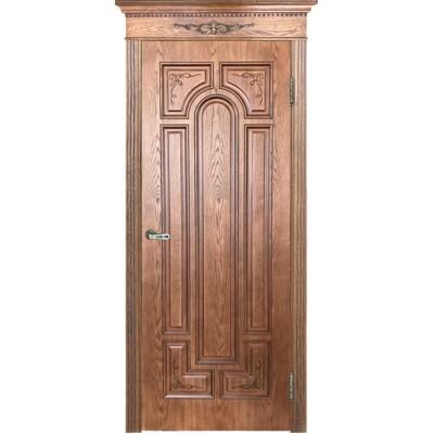 Ульяновская дверь Нимфа тон орех-2 ДГ