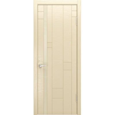 Ульяновская дверь Арт-1 ясень слоновая кость
