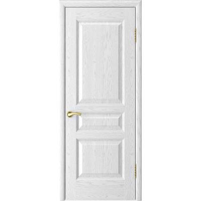 Ульяновская дверь Атлант-2 ясень белая эмаль ДГ