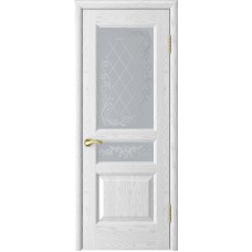 Ульяновские двери Атлант-2 ясень белая эмаль ДО