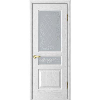 Ульяновская дверь Атлант-2 ясень белая эмаль ДО