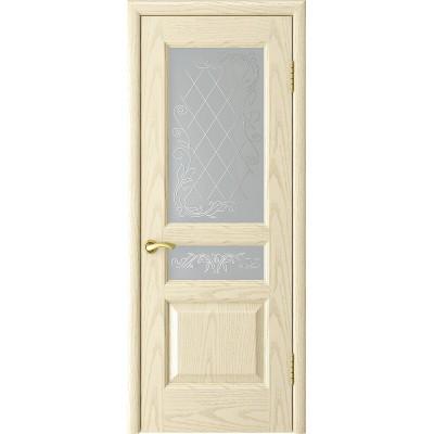 Ульяновская дверь Атлант-2 ясень слоновая кость ДО