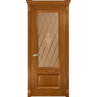 Ульяновская дверь Фараон-1 дуб золотистый ДО