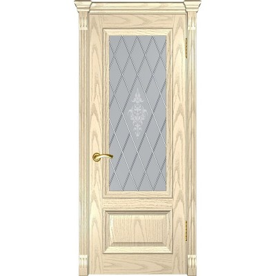 Ульяновская дверь Фараон-1 слоновая кость ДО