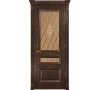 Ульяновские двери Фараон-2 морёный дуб ДО