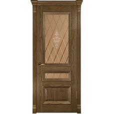 Ульяновские двери Фараон-2 светлый морёный дуб ДО
