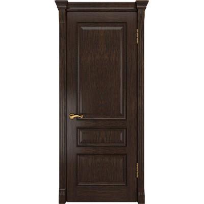 Ульяновская дверь Фемида-2 морёный дуб ДГ