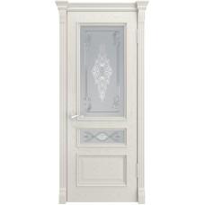Ульяновская дверь Гера-2 дуб RAL 9010 ДО