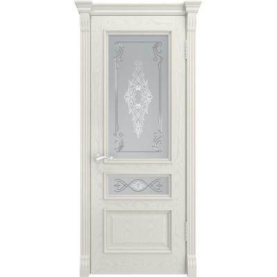 Ульяновская дверь Гера-2 RAL 9010 ДО