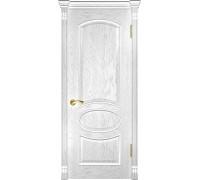 Ульяновская дверь Грация дуб белая эмаль ДГ