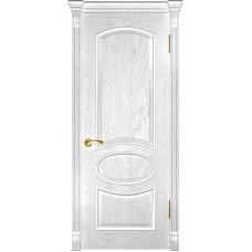 Ульяновские двери Грация дуб белая эмаль ДГ