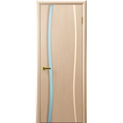 Ульяновская дверь Клеопатра-1 белёный дуб ДО