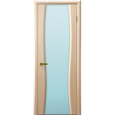 Ульяновская дверь Клеопатра-2 белёный дуб ДО