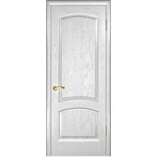 Ульяновская дверь Лаура дуб белая эмаль ДГ